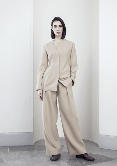 A-S Davik Beige Suit Other Stories